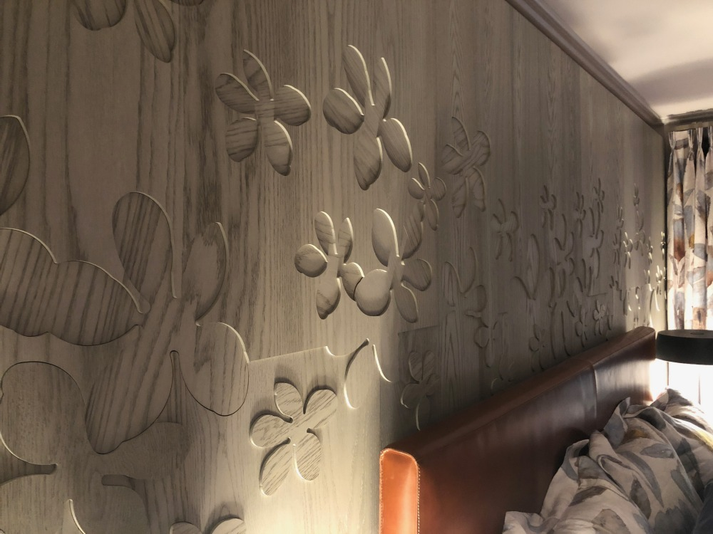 Wood Cutouts for accent wall