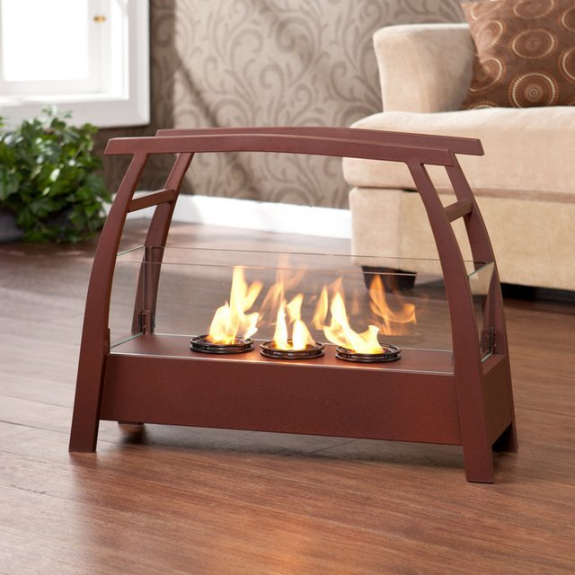 Portable Fireplaces That Create An Instant Cozy Vibe Wherever They Go