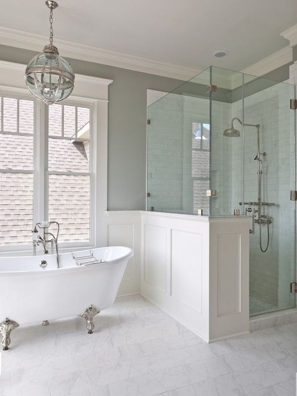 Freestanding Or BuiltIn Tub Which Is Right For You - Bathroom remodel ideas with clawfoot tub