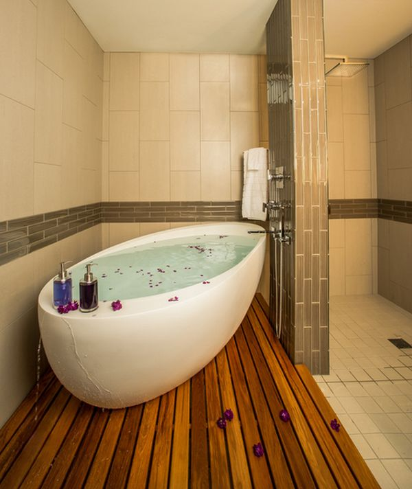 freestanding or built in tub which is right for you - Bathroom Designs With Freestanding Tubs