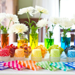 Bbq Style Table Party Decor Ideas