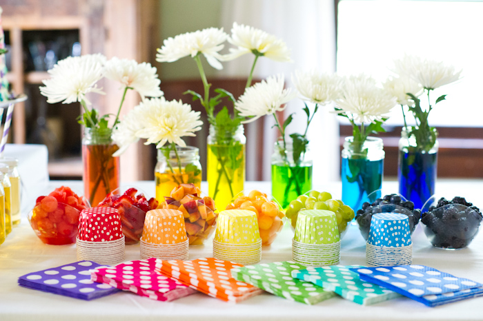 Party table decorating ideas how to make it pop - Decoration a la main ...