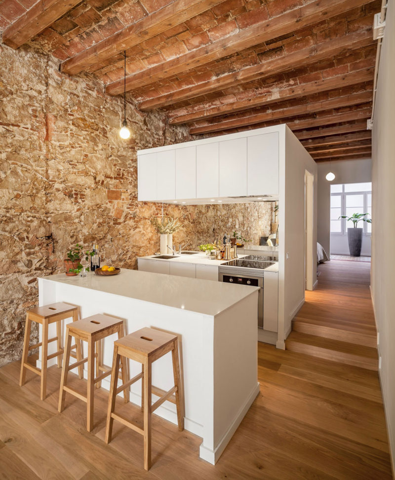 Modern Apartment Renovation Revives Its 19th Century Character