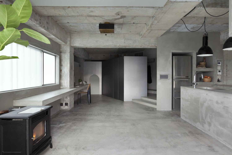 Renovation-in-Jiyugaoka-living-space
