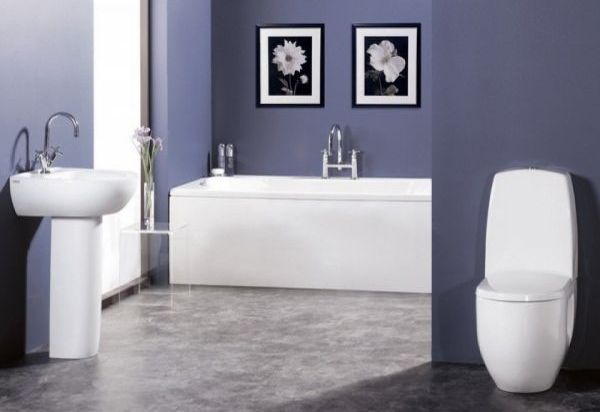 Interior Bathroom Colors Pictures 30 bathroom color schemes you never knew wanted charcoal grey and white