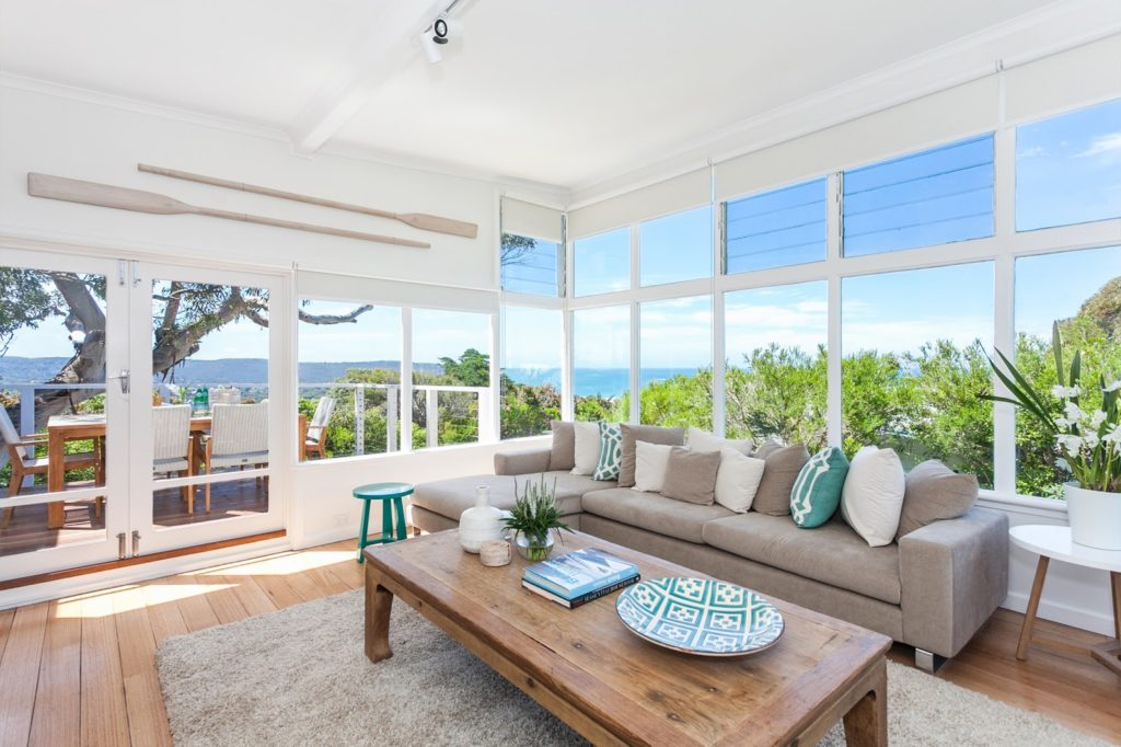Beach House Living Room Verview