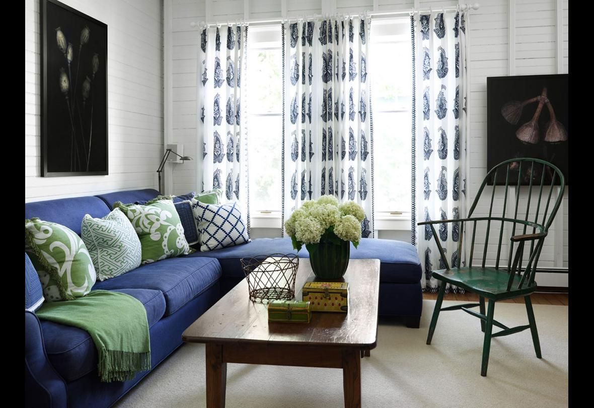 31 Of The Best Colors To Pair With Blue When You Decorate