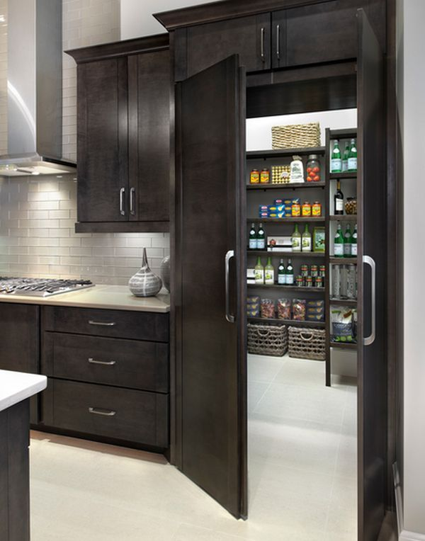 a diversity of door styles to hide your pantry with. Black Bedroom Furniture Sets. Home Design Ideas