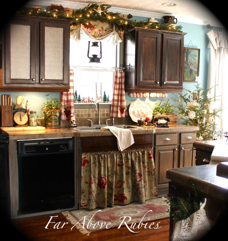 French Country Kitchen Cabinet Colors: 20 Ways To Create A French Country Kitchen