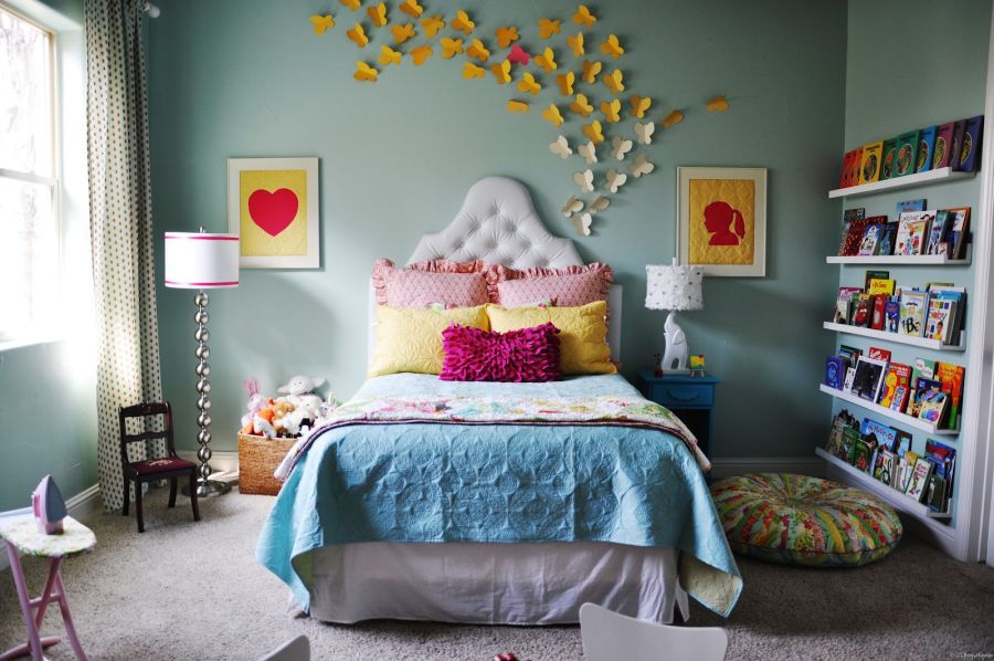 Cute bedroom design ideas for kids and playful spirits for How to decorate a big bedroom