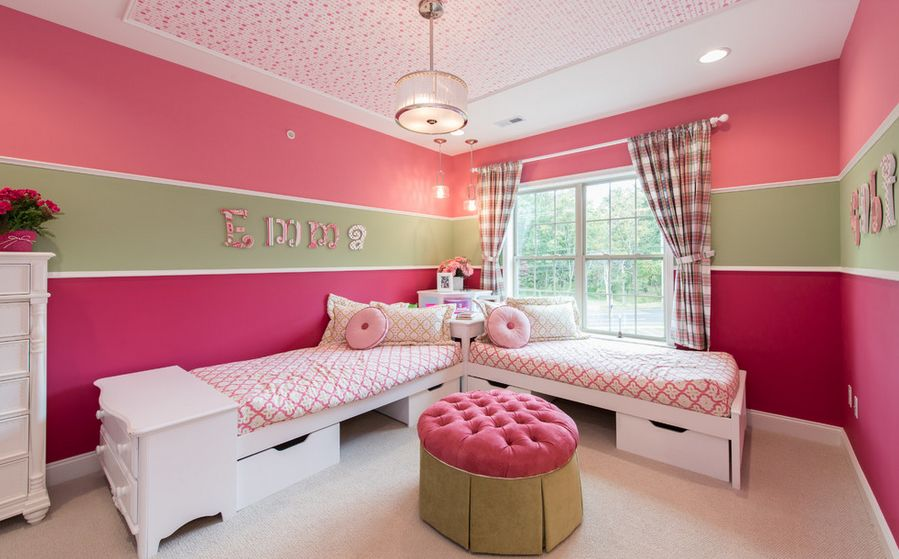 Cute Pink Rooms New Cute Bedroom Design Ideas For Kids And Playful Spirits