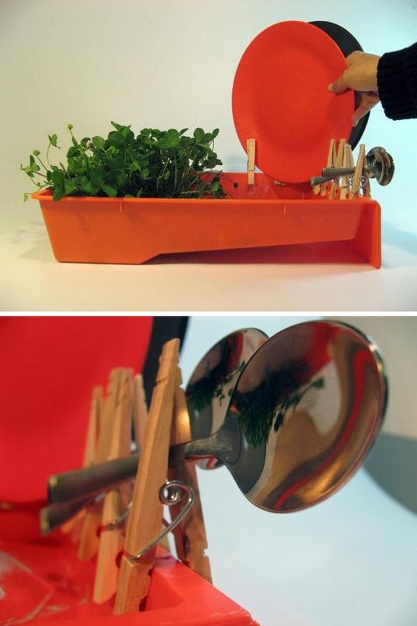 Clever Designs That Reinvent The Humble Dish Drying Rack