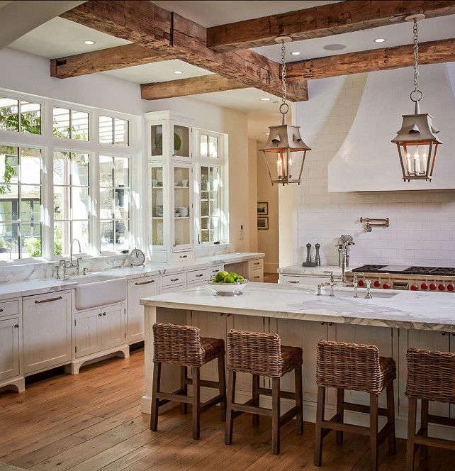 Rustic White Kitchens 20 ways to create a french country kitchen