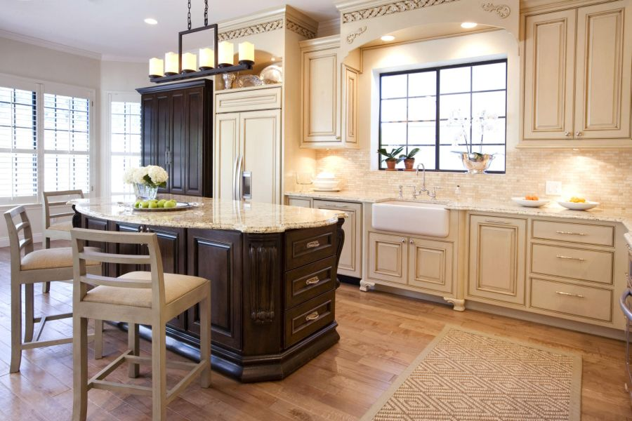 20 ways to create a french country kitchen rh homedit com country kitchen cabinets lethbridge country kitchen cabinets cross plains tn