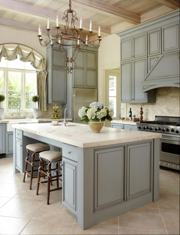 home decorating trends homedit - Country Style Kitchen Island