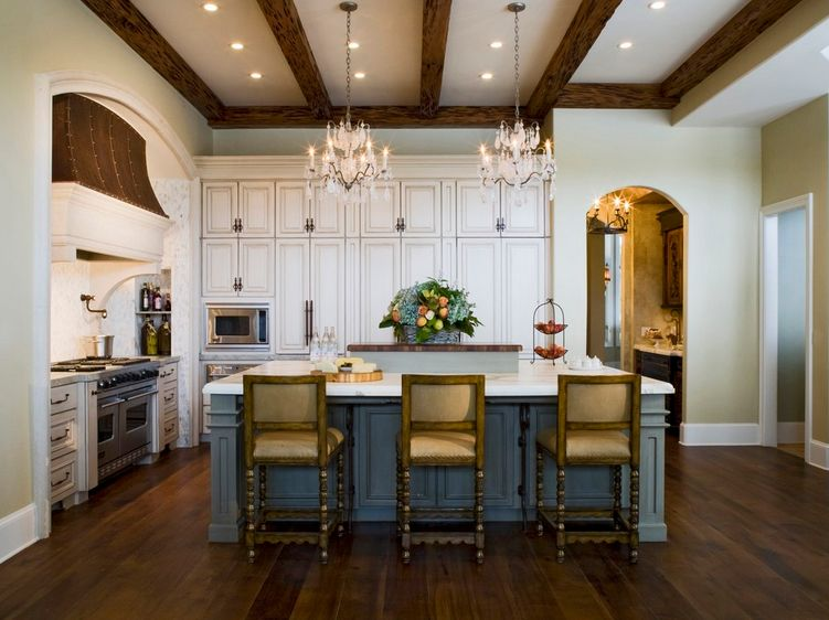20 ways to create a french country kitchen for Modern french country design