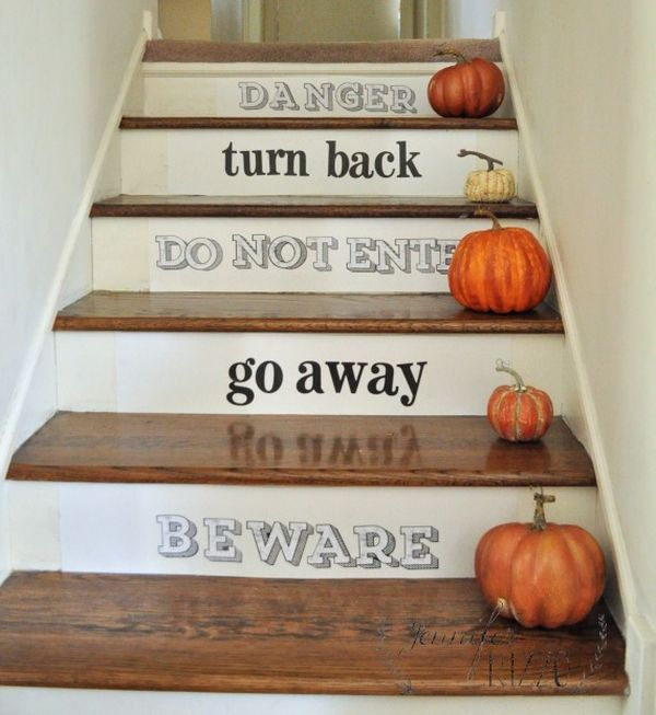 58 Cool Ideas For Decorating Stair Risers: Decorative Stair Risers With Designs For All Tastes