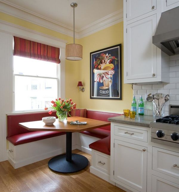 ways of integrating corner kitchen tables in your dacor