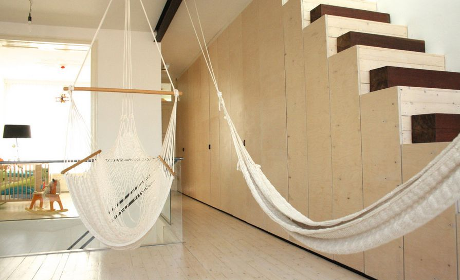 It\'s Swing Time With Indoor Hammocks – Inspiring Configurations