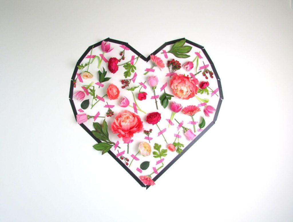 1d22170ba95 Valentine s Day Flower Wall Art