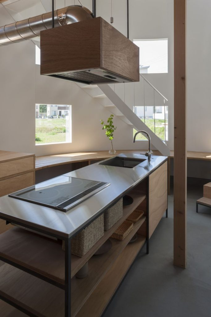 JapaneseInspired Kitchens Focused On Minimalism - Kitchen architects