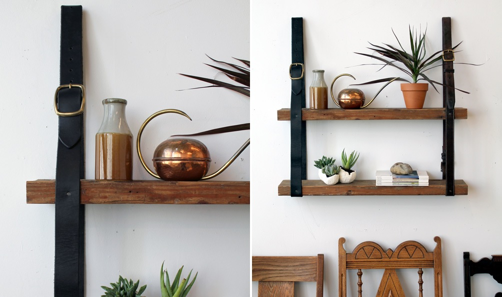 Hanging Shelves flexible ways to decorate with hanging shelves