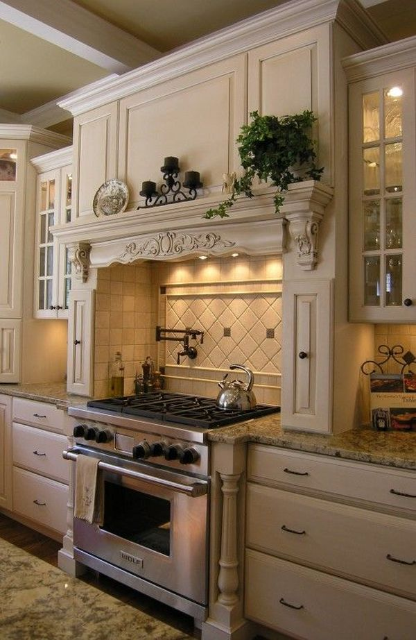 20 ways to create a french country kitchen for Country style kitchen nz