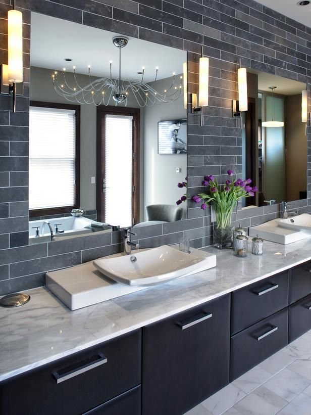 black and white - Bathroom Designs And Colour Schemes