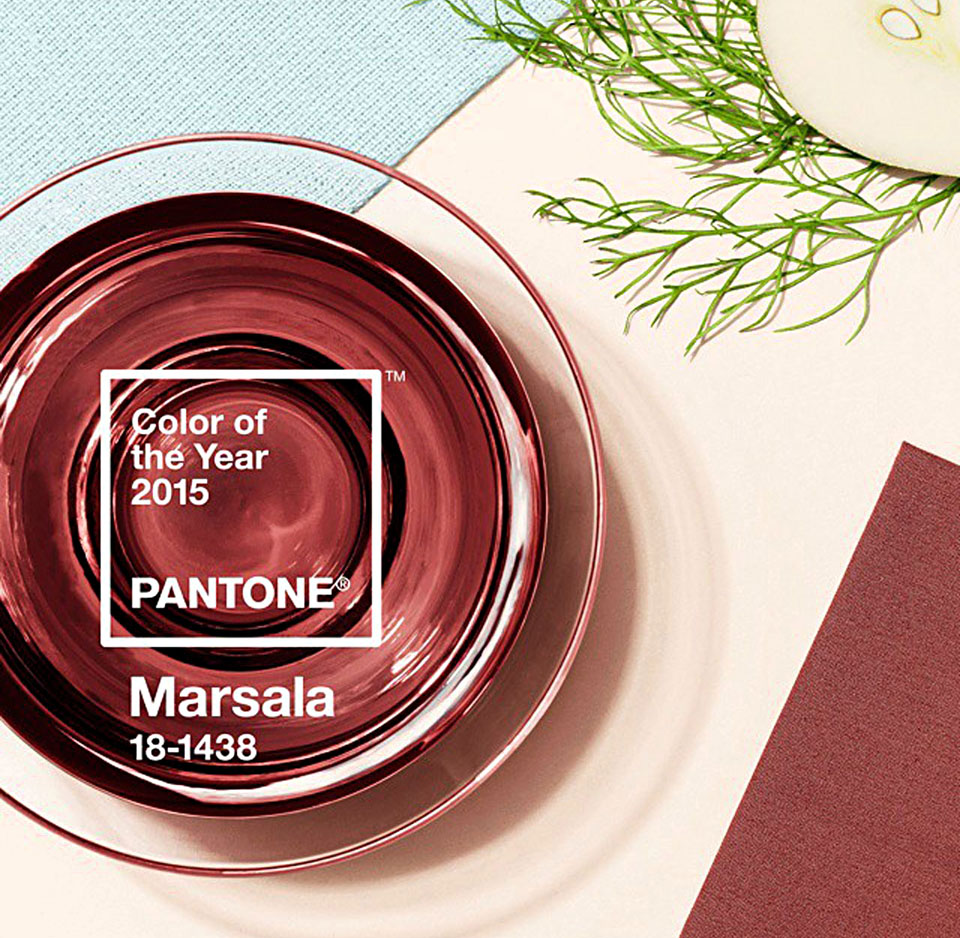 decorating with pantone 39 s 2015 color of the year marsala. Black Bedroom Furniture Sets. Home Design Ideas