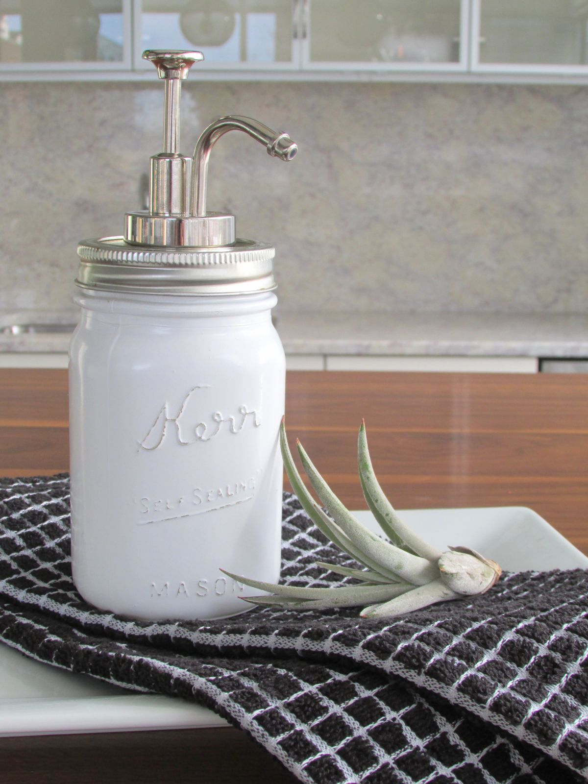 mason jar soap dispensesr finishedjpg