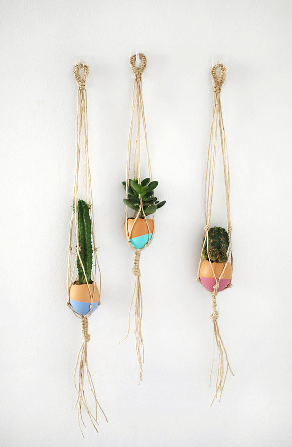 macrame plant hanger tutorials diy macrame plant hangers to craft in your spare time 4312