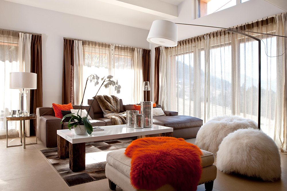 modern brown living room.  10 of the Best Colors to Pair with Brown