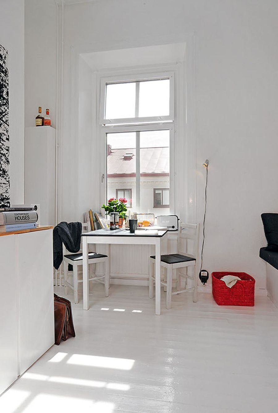 white apartment decorating ideas