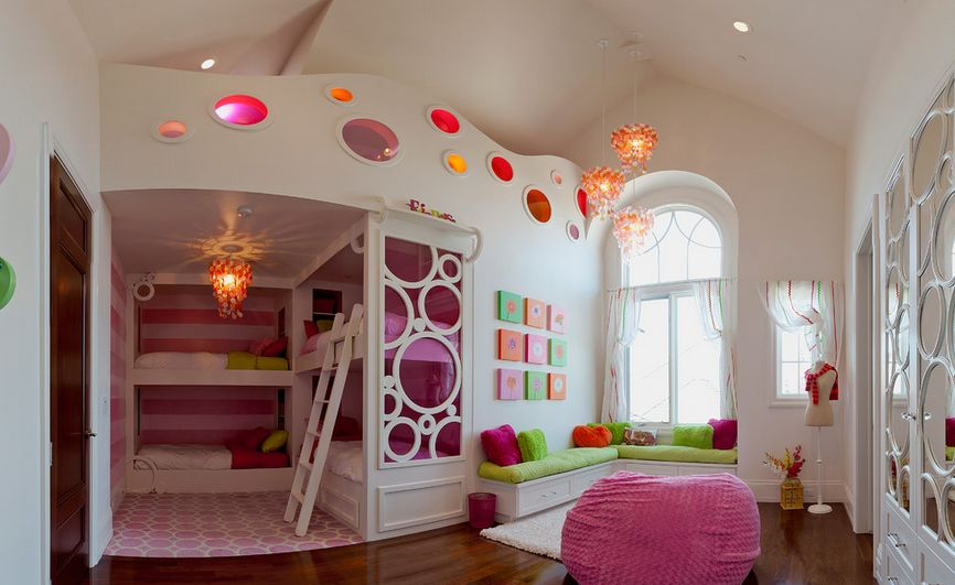 Bedroom Design Ideas For Kids And Playful Spirits