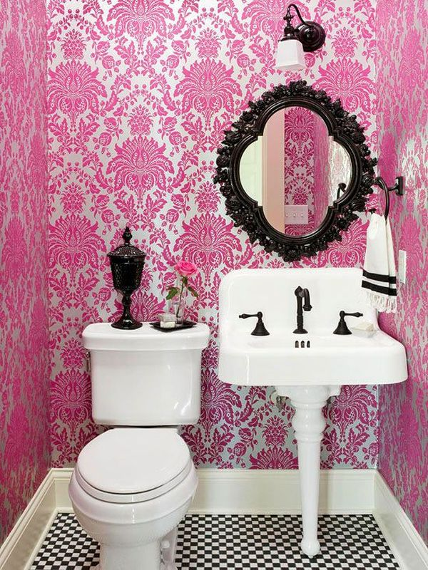 Bathroom Color Schemes You Never Knew You Wanted - Pink bathroom decorating ideas