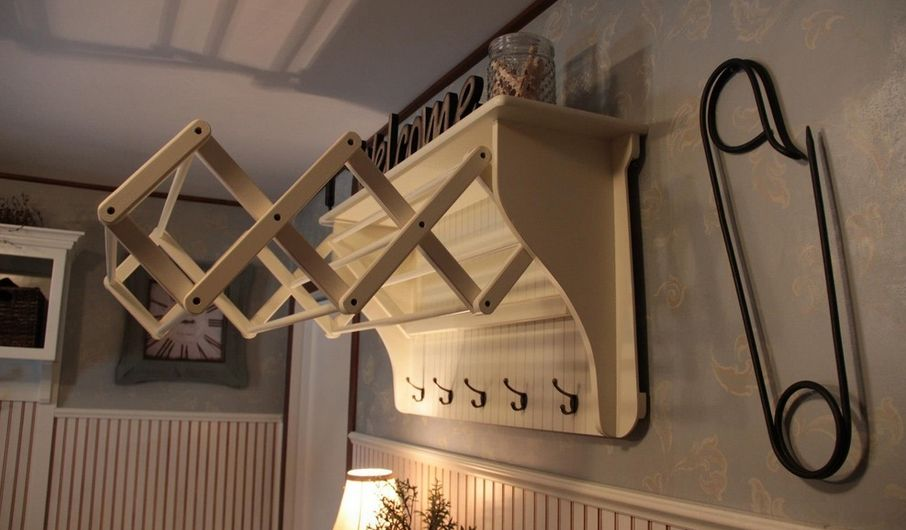 Practical Laundry Rack Designs That Donu0027t Stand Out Part 63