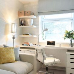 Elegant Narrow Desks For Slim Spaces And Space Savvy Homes Part 14