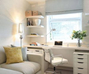 ... Narrow Desks For Slim Spaces And Space-Savvy Homes