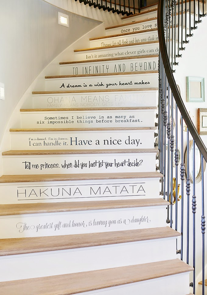 Attractive Decorative Stair Risers With Designs For All Tastes
