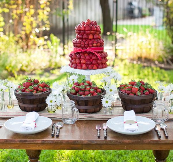 Merveilleux Garden Party Table.