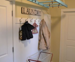 Practical Laundry Rack Designs That Don't Stand Out