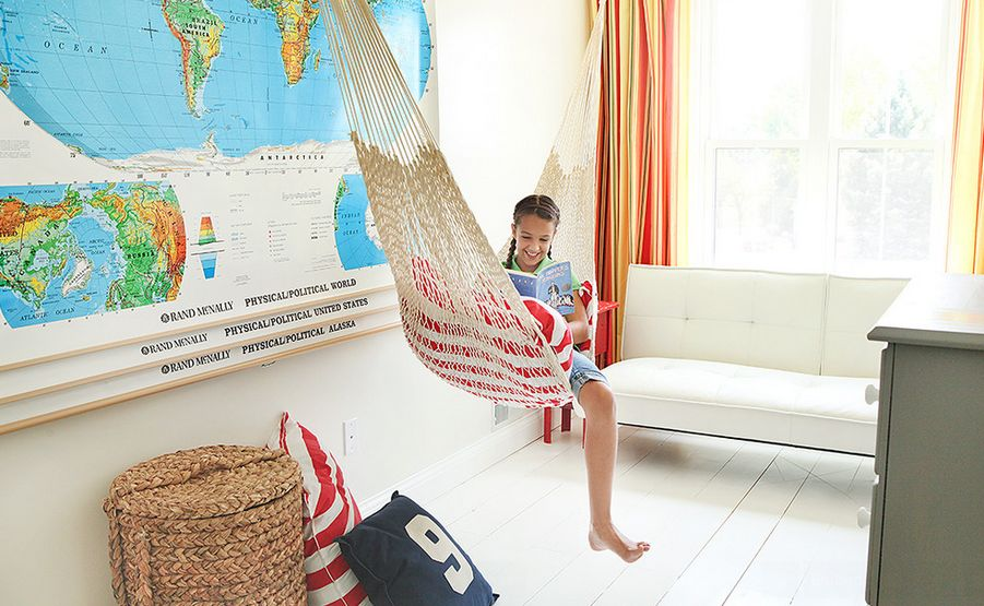 Living Room Hammock : It's Swing Time With Indoor Hammocks – Inspiring ...
