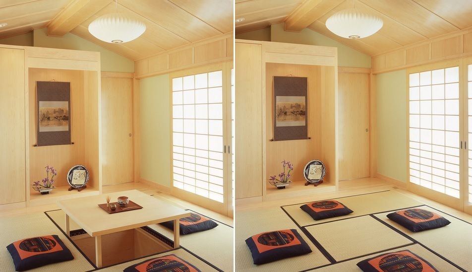 Japanese dining room decor