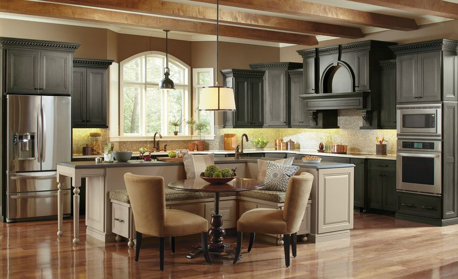 Kitchen Island With Booth Seating ways of integrating corner kitchen tables in your décor