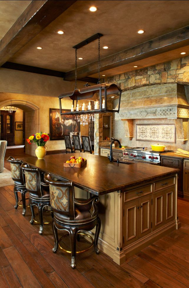 Ways To Create A French Country Kitchen - How to make a country kitchen table
