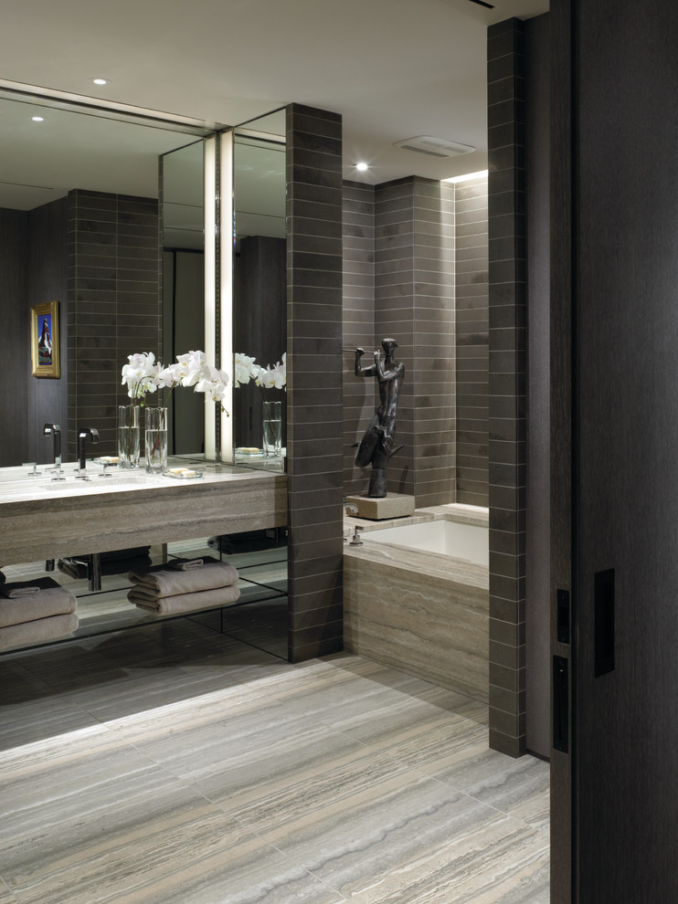 brown bathroom color ideas. Warm Grey Neutrals  30 Bathroom Color Schemes You Never Knew Wanted
