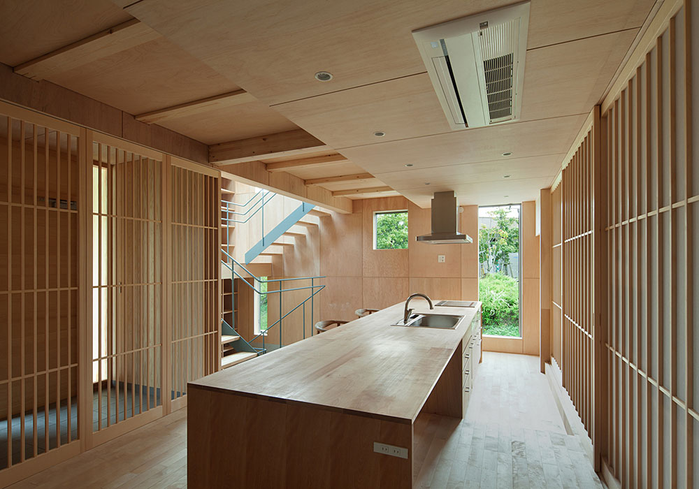 Japanese inspired kitchens focused on minimalism for Zen style kitchen designs