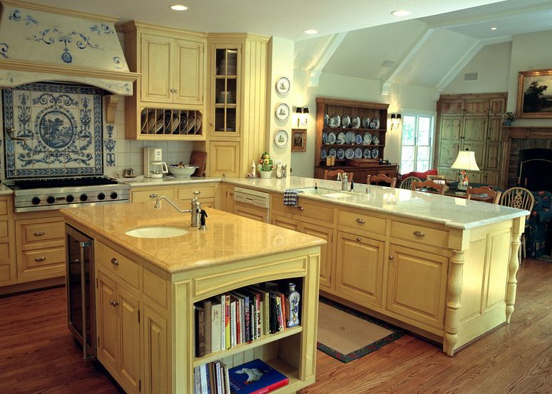 French Country Style Kitchen Furniture 20 ways to create a french country kitchen