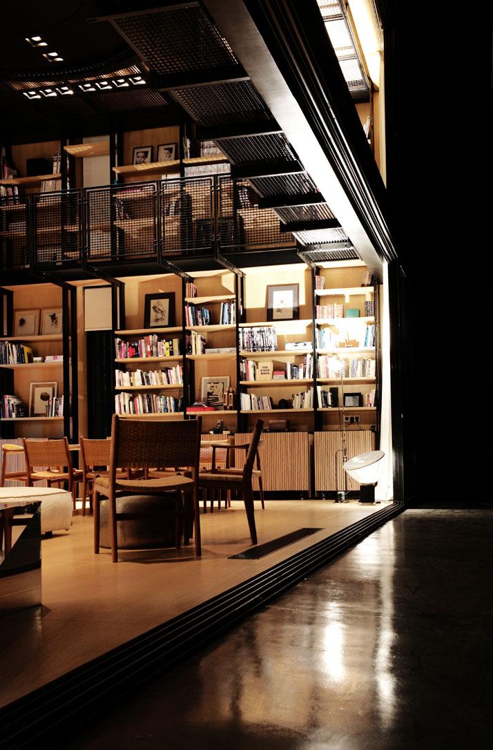 1-N-B-K-Residence-Beirut-Lebanon-library