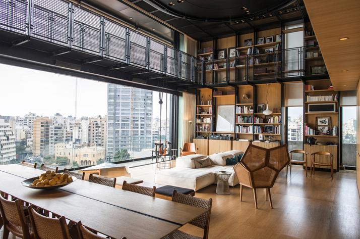 1-N-B-K-Residence-Beirut-Lebanon-living-space-angle1